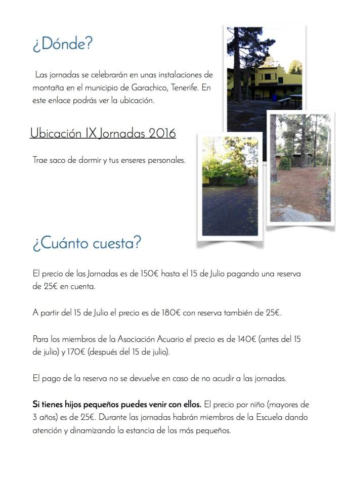 3. IX Jornadas de la Escuela Acuario 2016